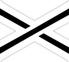 Crossed paddles Sticker