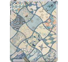 Origami Paper - Blue iPad Case/Skin