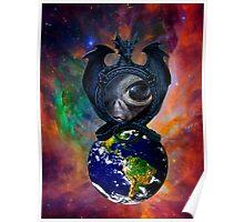 Alien Intervention Poster