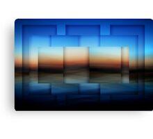 Computer Blue Canvas Print