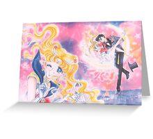 Bishoujo Sailor moon & Tuxedo Mask Greeting Card