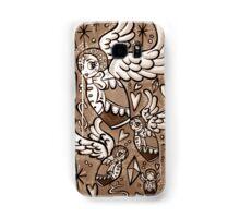 (Sepia) Wings of Desire Samsung Galaxy Case/Skin