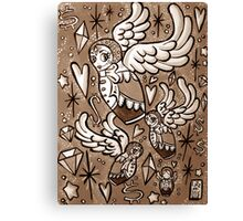 (Sepia) Wings of Desire Canvas Print