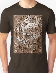 (Sepia) Wings of Desire Unisex T-Shirt