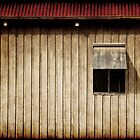 Shearing Shed Wall & Window by clearviewstock