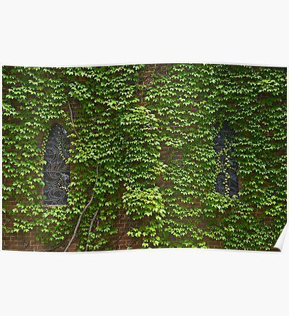 Lost Windows 2 - Gostwyck Chapel - Spring Poster