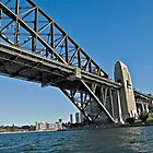 Close up of Sydney Harbour Bridge by clearviewstock