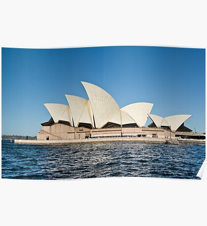Sydney Opera House - Water View Poster
