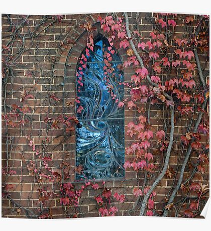 Gostwyck Chapel - Autumn Poster