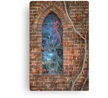 Gostwyck Chapel Window - Autumn Canvas Print