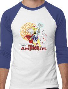 The Mighty Mega AmTHORos Men's Baseball ¾ T-Shirt