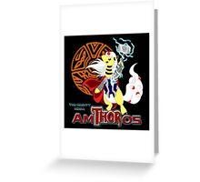 The Mighty Mega AmTHORos Greeting Card