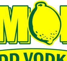 If Life Gives You Lemons, Add Vodka geek funny nerd Sticker