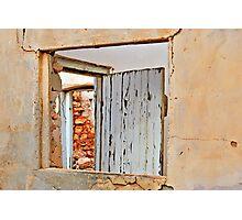 Window on the Past Photographic Print
