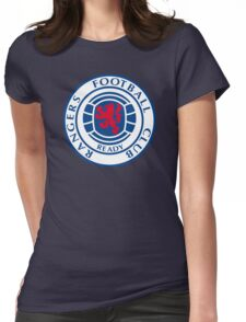 Glasgow Rangers Retro Womens Fitted T-Shirt