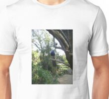 Semi-Wild Peacock, Gauteng, South Africa Unisex T-Shirt