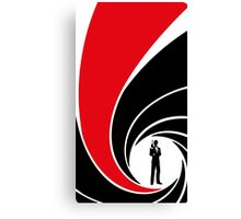 The Name's Bond Canvas Print