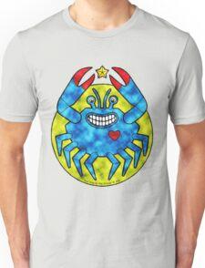Blue Crab (Clouds) Unisex T-Shirt