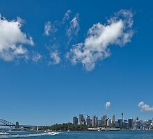 Harbour view of Sydney Harbour by clearviewstock