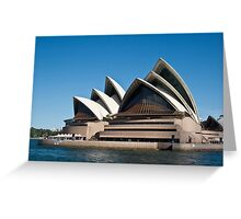 Sydney Opera House - Waterfront View Greeting Card