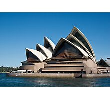 Sydney Opera House - Waterfront View Photographic Print