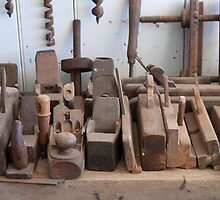 Old Time Tools by clearviewstock