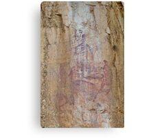 Rock Art 2 - Katherine Gorge, NT. Canvas Print