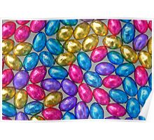 Assorted Colours - Chocolate Mini Eggs Poster