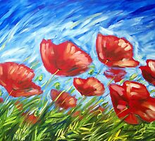 Poppy Summer by Ira Mitchell-Kirk
