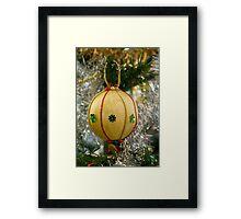 Handmade Christmas Decoration Framed Print