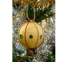 Handmade Christmas Decoration Photographic Print