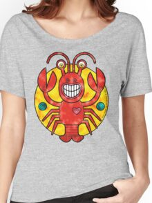 Rick Lobster (Clouds) Women's Relaxed Fit T-Shirt