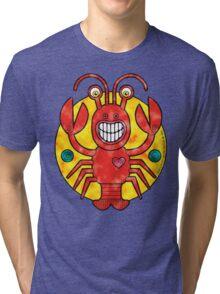 Rick Lobster (Clouds) Tri-blend T-Shirt