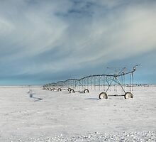 Irrigation Pivot in Snow by Patrick Kavanagh