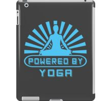 Powered By Yoga iPad Case/Skin