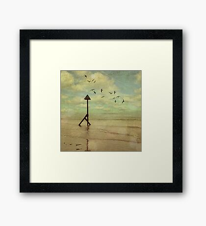 The Road of Life Pt 1 Framed Print
