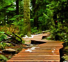Baden Powell Boardwalk Simplified by Michael Garson