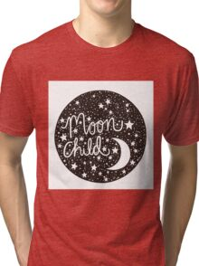 Moon Child Tri-blend T-Shirt