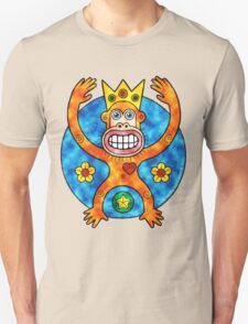 Orange Ape King (Clouds) T-Shirt