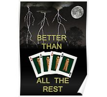 Four Aces Better Than All The Rest Poster