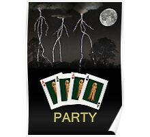 Four Aces Party Poster