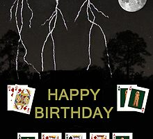 Happy Birthday Poker Cards by Eric Kempson