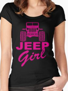 Jeep Girl Women's Fitted Scoop T-Shirt