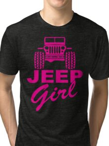 Jeep Girl Tri-blend T-Shirt