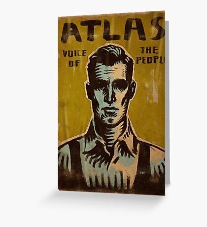 Bioshock - Atlas Greeting Card