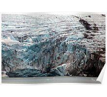 Brepollen Glacier close up Poster