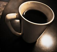 Coffee cup with cool tones by SamuelHaun