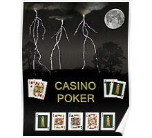 Casino Poker, Poker Cards Poster