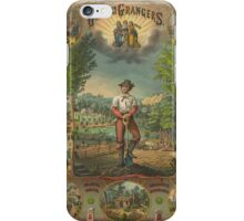 Gift for the Grangers by Strobridge & Co. Lith. (1873) iPhone Case/Skin