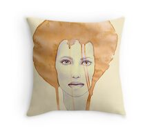 Tea Coloured Dreams Throw Pillow
